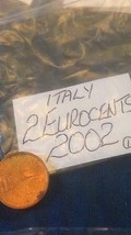 Italian Two Euro Cent 2 EuroCent Coins Italy Eu... - $2.95