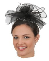 J26406 Black/Silver Fascinator Headband - €11,43 EUR
