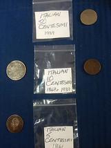 Centesimi Italian Coins Italy Coin Hunt 1861-19... - $7.70 - $19.33