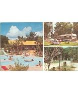 Holiday Travel Park, Leesburg, Florida, 1983 used Postcard  - $3.99