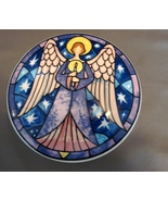 Mikasa Angel  Covered Trinket Box Porcelain Star Candle - $12.90