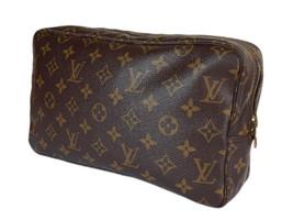 LOUIS VUITTON TROUSSE TOILETTE 28 Monogram Canvas Cosmetic Pouch Bag LP2619 - $198.00