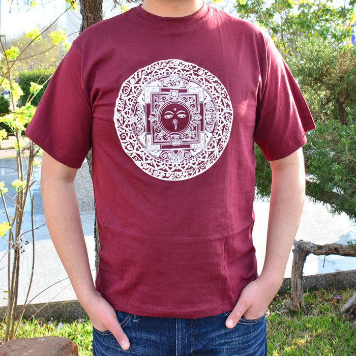 Mandala with Buddha Eye Tshirt