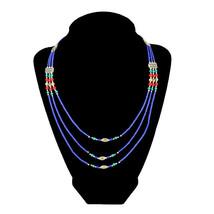 Lapis Lazuli beaded Necklace - $29.99