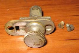 Antique Free Vibrating Shuttle Stitch Length Lever & Cover Plate - $9.00