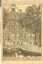 Holland, Netherlands, Amsterdam, Helkasteel Van Beveren Prinsengracht, postcard - $9.99