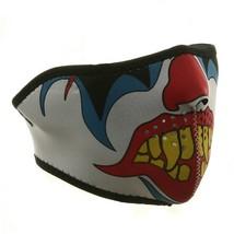 Clown Neoprene Half Face Mask - $10.99