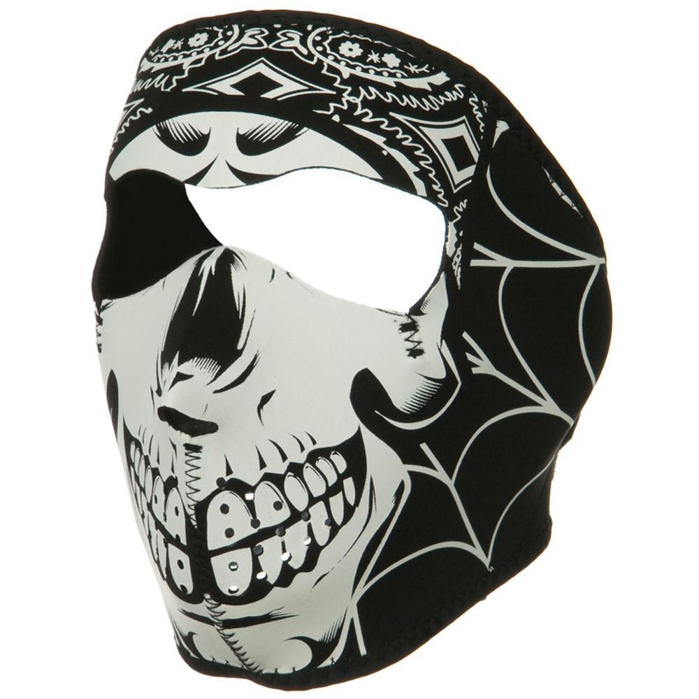 Lethal threat face mask gangster skull  10928