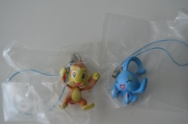 Lot of 2 Pokemon Fun Figure Charm Series 4, Manaphy and Chimchar - $14.01
