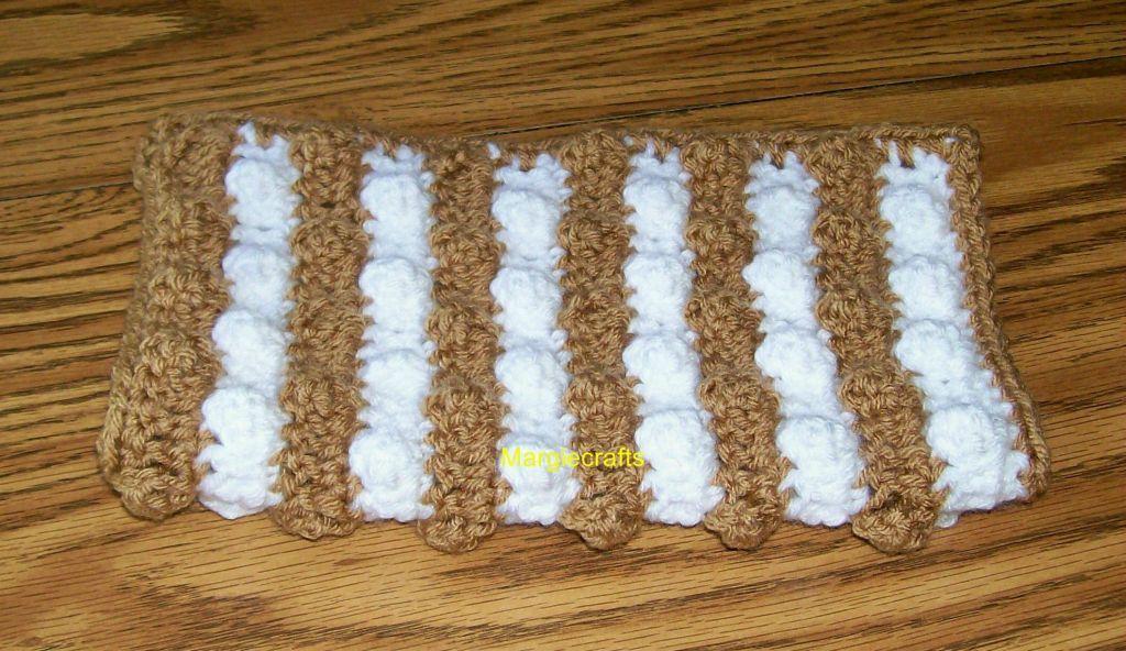 Brown washcloth  5