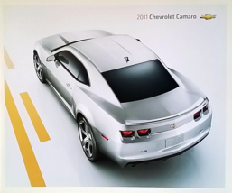 2011 Chevrolet CAMARO brochure catalog 1st Edition US 11 Chevy RS SS Coupe - $9.00