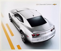 2011 Chevrolet CAMARO brochure catalog 2nd Edition 11 Chevy Coupe Conver... - $9.00