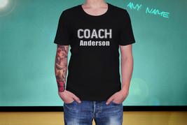 Coach - Custom Name - Unisex Adult T-Shirt - $18.90