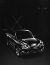 2011 Lexus LX 570 sales brochure catalog 11 US Land Cruiser - $9.00