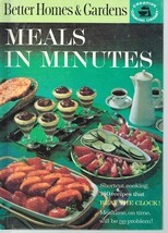 Better Homes&Gardens Meals In Minutes;45 Minutes!180 Shortcut Recipes;1963 Hc;7th - $9.99