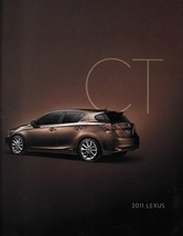 2011 Lexus CT 200h HYBRID sales brochure catalog 11 US - $9.00