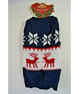 "Dog Pet Christmas Sweater 100% Acrylic Large 16"" NWT - $12.99"