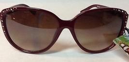 Panama Jack Maroon Shatter Resistant PC Lens Sunglasses NWT - $8.99