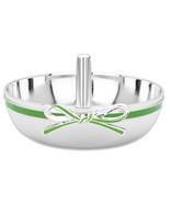 Kate Spade VIENNA LANE Ring Holder Green/Silverplate Tied with Sculpted ... - £27.10 GBP