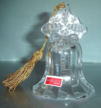 Waterford Marquis Actual Ringing Bell Christmas Ornament 2012 Undated 15... - $19.99