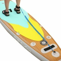 3m/10Ft Sup SurfBoard Ankle Leash Surfing Elastic Coiled Stand Board Leg... - £13.59 GBP