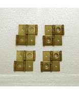 Set of 4 Shoji Screen Hinges - Gold - $14.88