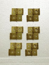 Set of 6 Shoji Screen Hinges - Gold - $23.52