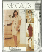 McCall's Sewing Pattern 3578 Misses Womens Dres... - $10.98