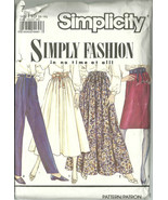Simplicity Sewing Pattern 7021 Misses Womens Sk... - $12.98