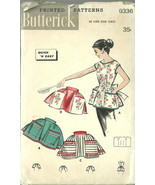 Butterick Sewing Pattern 8336 Misses Womens Apr... - $14.98