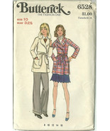 Butterick Sewing Pattern 6528 Misses Womens Jac... - $12.98