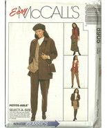 McCall's Sewing Pattern 8905 Misses Womens Jack... - $10.98