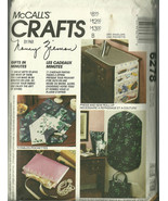 McCall's Sewing Pattern 6278 Crafts Gifts Garme... - $9.98