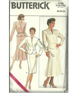 Butterick Sewing Pattern 4189 Misses Womens Sui... - $10.98