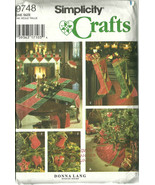 Simplicity Sewing Pattern 9748 Christmas Holida... - $9.98
