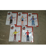 Set The Big Bang Theory Action Figures Wonderland Toy Carded Sheldon Penny - $99.00