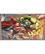 Incredible Hulk vs Superman Glossy Print 11 x 1... - $24.99