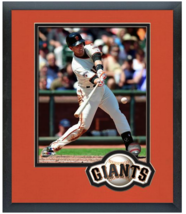 Buster Posey 2015 San Francisco Giants - 11x14 Team Logo Matted/Framed Photo - $43.95