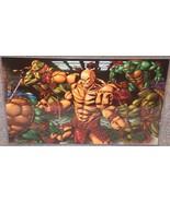 TMNT vs Mortal Kombat Goro Glossy Print 11 x 17... - $24.99