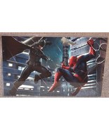 Spider-Man vs Batman Glossy Print 11 x 17 In Ha... - $24.99
