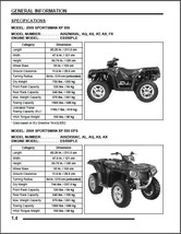 2009 Polaris Sportsman XP 550 / XP 550 EPS Service Repair Manual CD - $12.00