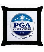 New PGA Championship 2013 Oak Hill Throw Pillow Case - $9.88