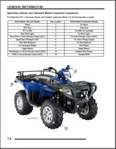2007 Polaris Sportsman 450 / 500 EFI / X-2 500 EFI Service Repair Manual CD - X2 - $12.00