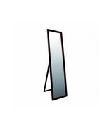 Walnut Finish Full Length Stand Mirror Rectangular Vertical Standing Mir... - $83.88