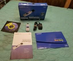 Linksys Cisco RangePlus Wireless Network USB Adapter WUSB100, 802.11b/g ... - $17.46