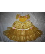 New Disney Store Deluxe Princess Belle Costume SOLD OUT FANCY X Small 4 NWT - $79.95