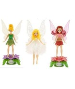 Exclusive Tinkerbell Faries Flutter Doll Holiday Set Rosetta Arrival Whi... - $31.65