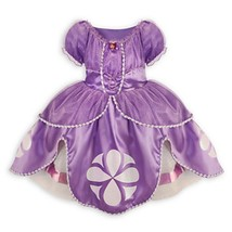 Disney Junior Sofia the First Deluxe Costume Dress Size Medium 7 / 8 Hal... - $805,21 MXN