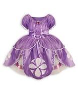 Disney Junior Sofia the First Deluxe Costume Dress Size Medium 7 / 8 Hal... - $41.90