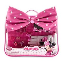 Disney Minnie Mouse Costume Accessory Set for Dress Up, Rings, Bracelet,... - $16.76